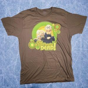Disney Parks Muppets Statler & Waldorf Mens Shirt